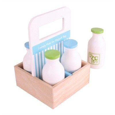 Kaufladen - Milchlieferung - Bigjigs