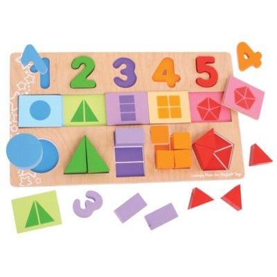 Puzzle - Bruchteile - Bigjiigs