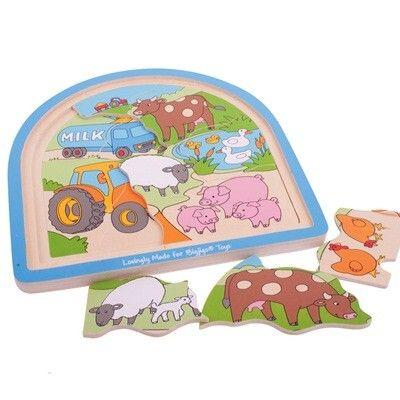Puzzle - Bauernhof - 3 in 1