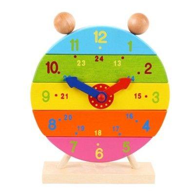 Puzzle - Die Uhr lernen - Bigjigs