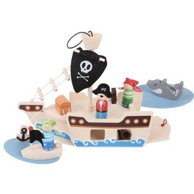 Piratenschiff - 9 Teile - Bigjigs