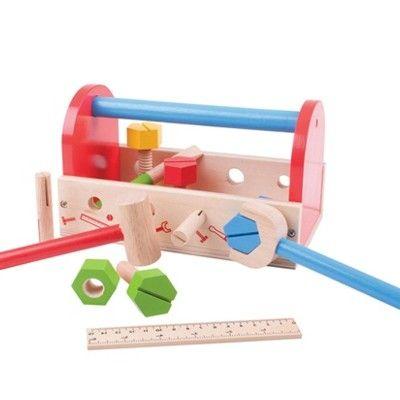 Werkzeugkasten aus Holz - My tool box - Bigjigs