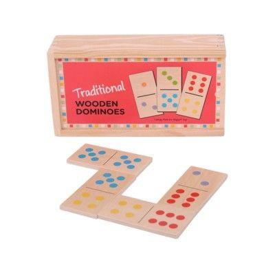 Spiel - Domino aus Holz