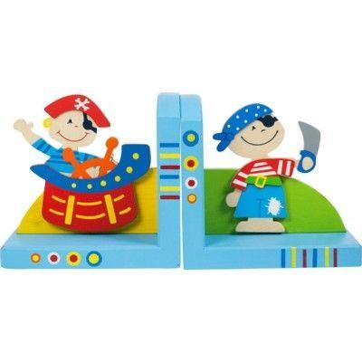 Bücherstützen - Piraten