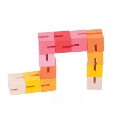 Puzzle - Pocket Puzzle - Rot - Bigjigs