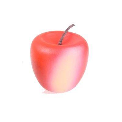Kaufladen - Apfel aus Holz - Rot