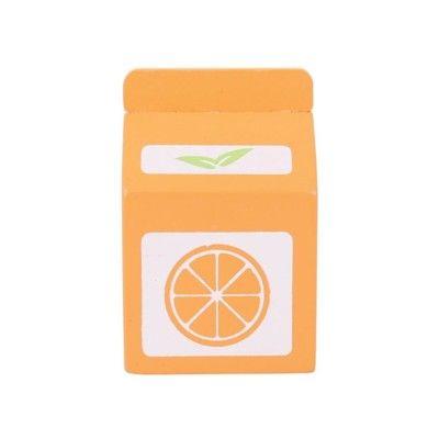 Kaufladen - Orangensaft aus Holz - Bigjigs