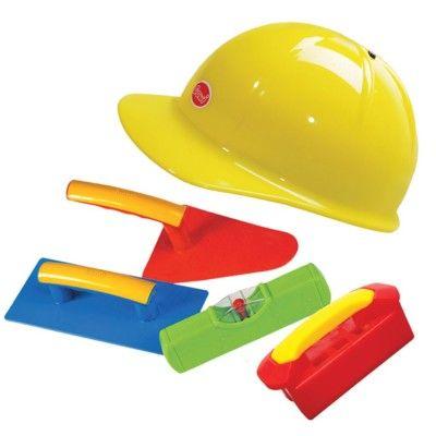 Sandspielzeug - Maurer-Set mit Helm