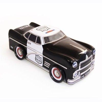Metalldose - Polizeiauto