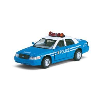 Spielzeugauto - Ford Police - Blau