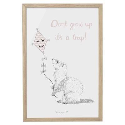 Bild - Don't grow up it's a trap! - Bloomingville