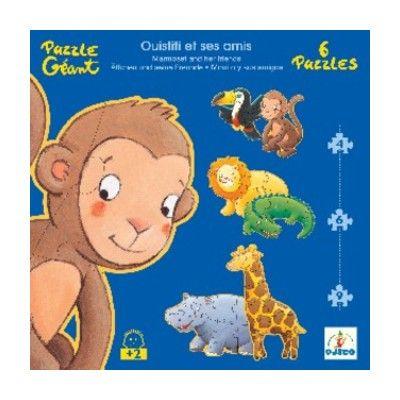Puzzle - Der Affe und seine Frende - 38 Teile