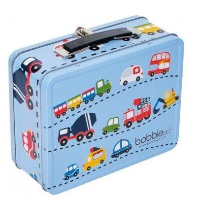 Lunchbox aus Metall - Verkehr